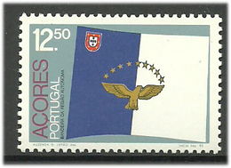 Portugal Acores Azores 1983 Flag Acores, Bird Mi  357 MNH(**) - Açores