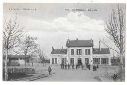 MAURIAC --La Gare - Mauriac