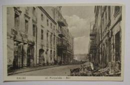 Polen Kalisz, Zerstörte Strasse (53499) - Weltkrieg 1914-18