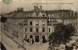 CPA PARIS 12e Sapeurs-Pompiers De Paris. Caserne De Chaligny (673661) - Arrondissement: 12
