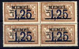 MEMEL  - 43** - TYPE MERSON - Memel (1920-1924)
