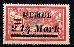 MEMEL  - 70* - TYPE MERSON - Unused Stamps