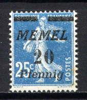 MEMEL  - 50** - TYPE SEMEUSE - Memel (1920-1924)