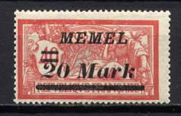 MEMEL  - 90** - TYPE MERSON - Memel (1920-1924)