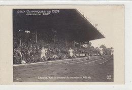 Jeux Olympiques 1924 - Arrivée Du 400m - Liddel Bat Le Record Du Monde - Carte Photo         (A-158-190723-160808))8)) - Giochi Olimpici