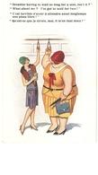 """""""Dreadful Having To Sait So Long..."""" Inter-Art Comique Series Pc # 6950 - Humour"""