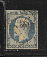 N° 10 NI CLAIR NI AMINCI - OBLITERATION LOSANGE - FILETS INTACTS - 1852 Louis-Napoleon