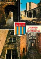 07 - Joyeuse - Cité Médiévale - Multivues - Blasons - Voir Scans Recto-Verso - Joyeuse