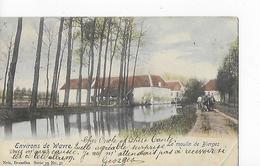 1 Cpa Wavre : Moulin De Bierges : Attelage, CP Colorisée - Waver