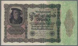 P80 Ro78 DEU-89 - 50 000 Mark Impression Du Reichs  UNC NEUF - 50000 Mark