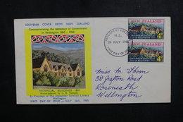 NOUVELLE ZÉLANDE - Enveloppe FDC En 1965 - Gouvernement De Wellington - L 50203 - FDC