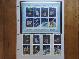 CUBA Anni '60 - Astronautica Nn. 1165/72 + BF 30 Yvert - Nuovi ** + Spese Postali - Unused Stamps