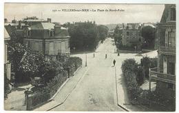 VILLERS Sur MER - La Place Du Rond-Point  - Bon état - Circulée 1919 - Villers Sur Mer
