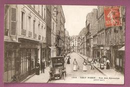 Cpa Tout Paris N°1968 - Rue Des Apennins - Collection F Fleury - Distretto: 17