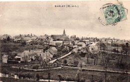 Rablay-sur-Layon Belle Vue Du Village Vignes Vignoble Vin D'Anjou Côteau Du Layon - Other Municipalities