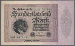Pick83a Ro82a DEU-83a  100.000 Mark 1923 ** UNC NEUF - [ 3] 1918-1933 : República De Weimar