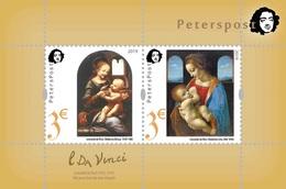 Finland. Peterspost. Leonardo Da Vinci. 500 Years From The Date Of Death, Block (FV Price!) - Finland