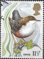 GREAT BRITAIN 1980 Centenary Of Wild Bird Protection Act - 11 1/2 P - White-throated Dipper ('Dipper') FU - Oblitérés