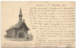 Argentueil - L'Eglise Protestante - Argenteuil