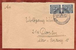 Brief, Ziffern, SoSt Coesfeld Briefmarkenausstellung, Nach Dorsten 1947 (89167) - Zone AAS
