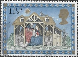 GREAT BRITAIN 1979 Christmas - 11 1/2 P - The Nativity FU - 1952-.... (Elisabetta II)