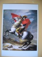 Napoléon Bonaparte Tableau, Louis David Bonaparte Franchissant Le Grand Saint-Bernard - Historische Persönlichkeiten