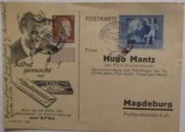 Werbung Reklame Rauchen Zigaretten EFKA, D.Reich Oschersleben 1942 (71956) - Briefmarken