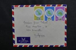 VANUATU - Enveloppe Pour Bruxelles , Affranchissement Plaisant - L 50234 - Vanuatu (1980-...)
