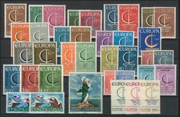 Gemeinschaft / CEPT / Europa 1966 Jahrgang 19 Ausgaben Komplett ** - Europa-CEPT