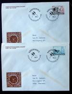 Denmark 1983 NORDEN Cz.Slania    MiNr.772-73  Barrow / Brouette / Karren FDC  ( Lot  Ks ) - FDC