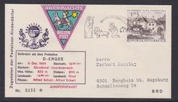 4. Ballonpost Österreich Christkindl Weihnachten 1964 - FDC