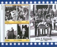 PALAU 2007 - J.F. Kennedy - Feuillet De 4 - Kennedy (John F.)