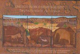 NAMIBIE 2008 - UNESCO - Site De Twijfelfontein - BF - Namibia (1990- ...)