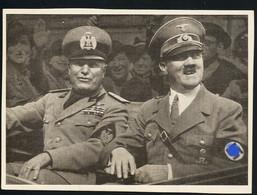 AK/CP  Hitler  Und Mussolini  Duce    Propaganda Nazi Ungel/uncirc  1933-45  Erhaltung/Cond. 2  Nr. 00926 - War 1939-45