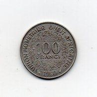 Africa Dell' Ovest - 1980 - 100 Franchi - (Vedi Foto) - (MW2703) - Monete