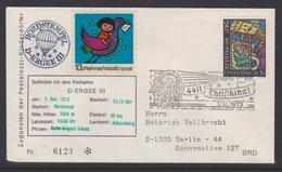 13. Ballonpost Österreich Christkindl Weihnachten 1973 - FDC