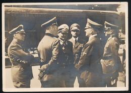 AK/CP  Hitler  Göring  Compiegne 1940     Propaganda Nazi  Gel/circ  1941 Feldpost    Erhaltung/Cond. 2-  Nr. 00928 - War 1939-45