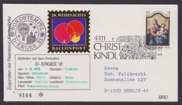 18. Ballonpost Österreich Christkindl Weihnachten 1978 - FDC