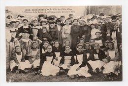 - CPA CONCARNEAU (29) - La Fête Des Filets Bleus 1915 - L'Élection De La Reine - Les Concurrentes Devant Le Jury - - Concarneau