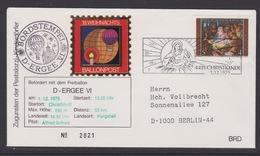 19. Ballonpost Österreich Christkindl Weihnachten 1979 - FDC