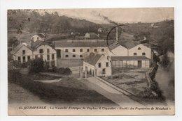 - CPA QUIMPERLÉ (29) - La Nouvelle Fabrique De Papiers à Cigarettes 1925 - Edition NOZAIS N° 15 - - Quimperlé