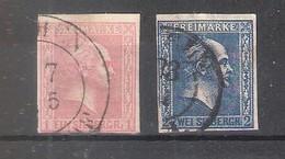 Prusse - Yv.11/12 - Obl/gest/used (à Voir) - Preussen