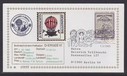 25. Ballonpost Österreich Christkindl Weihnachten 1985 - FDC