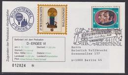 27. Ballonpost Österreich Christkindl Weihnachten 1987 - FDC