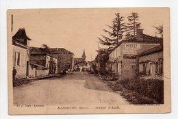 - CPA MASSEUBE (32) - Avenue D'Auch 1934 - Edition Lafontan - - Francia