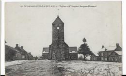 53 - ST MARS SUR LA FUTAIE    -  L'Église Et L'Hospice - Other Municipalities