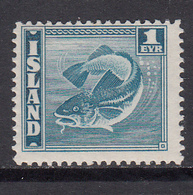 Iceland MNH Michel Nr 208 From 1939 / Catw 1.00 EUR - Unused Stamps