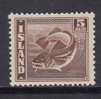 Iceland MNH Michel Nr 210 From 1939 / Catw 1.00 EUR - Unused Stamps
