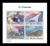 Togo 2019 Mih. 10661/64 Aviation. Supersonic Airliners Concorde MNH ** - Togo (1960-...)