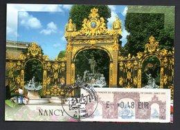 CARTE MAXIMUM -- SALON PHILATELIQUE CONGRES  NANCY   2006  --LISA  0,48 - Maximum Cards